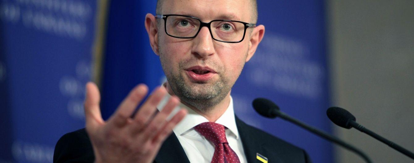 """Кабмін не є персональним """"урядом Яценюка"""". Народний фронт різко прокоментував коаліційні перемовини"""
