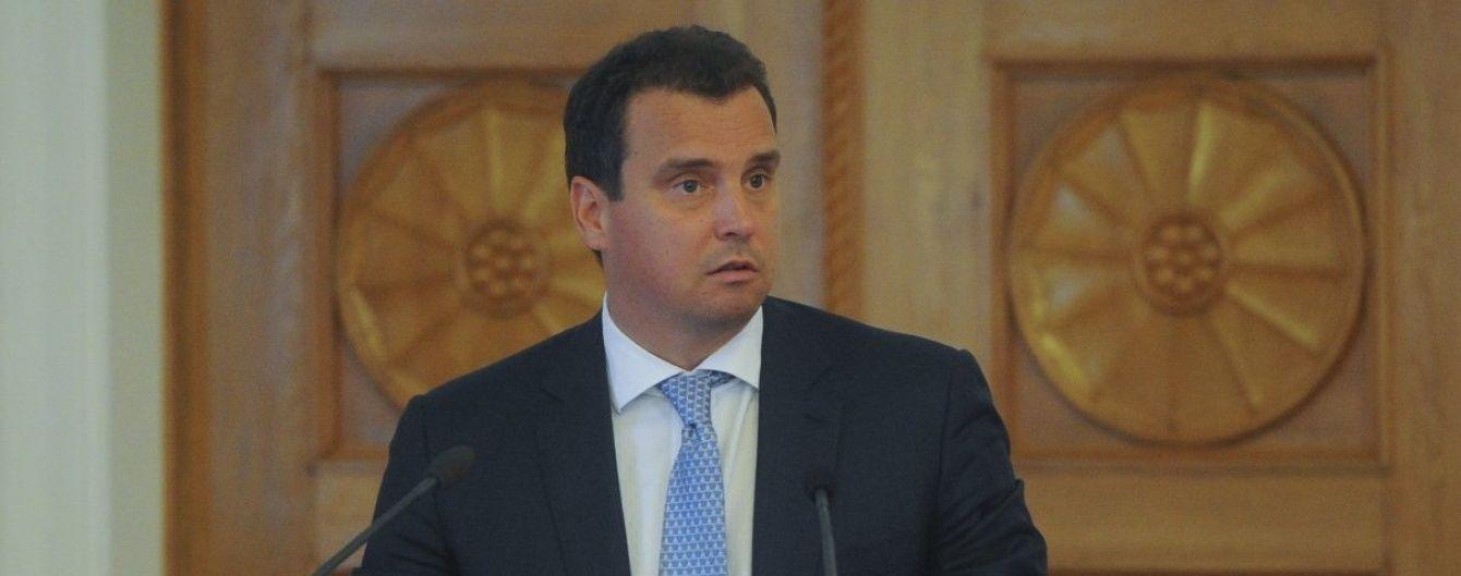 """Абромавичус хоче, щоб його відставка стала """"холодним душем"""" для керівництва країни"""
