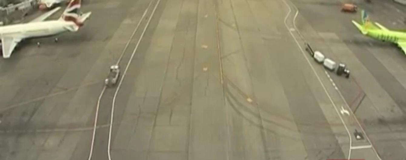 У московському аеропорту сталася аварія
