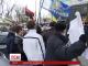 Сьогодні вдень активісти національного люстраційного комітету пікетували Кабмін