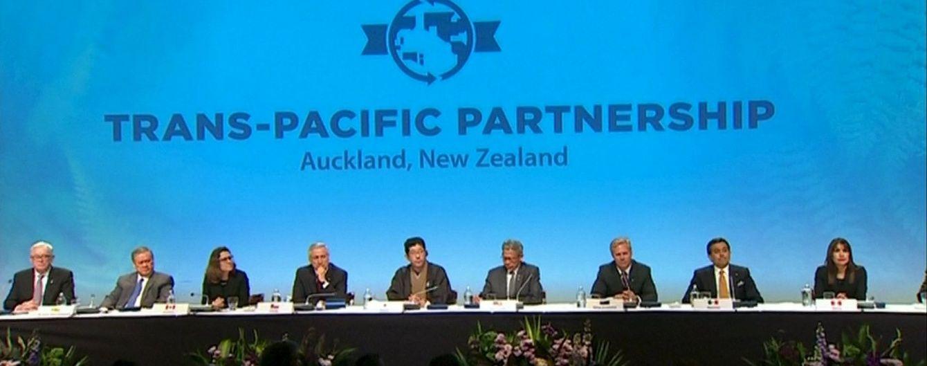 12 країн підписали договір про Транстихоокеанське партнерство. Інфографіка