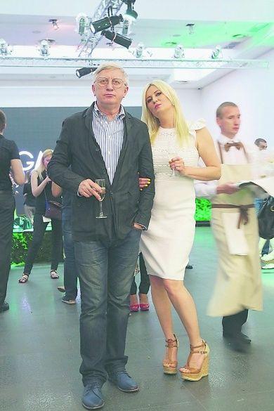 Володимир Горянський із новою дружиною