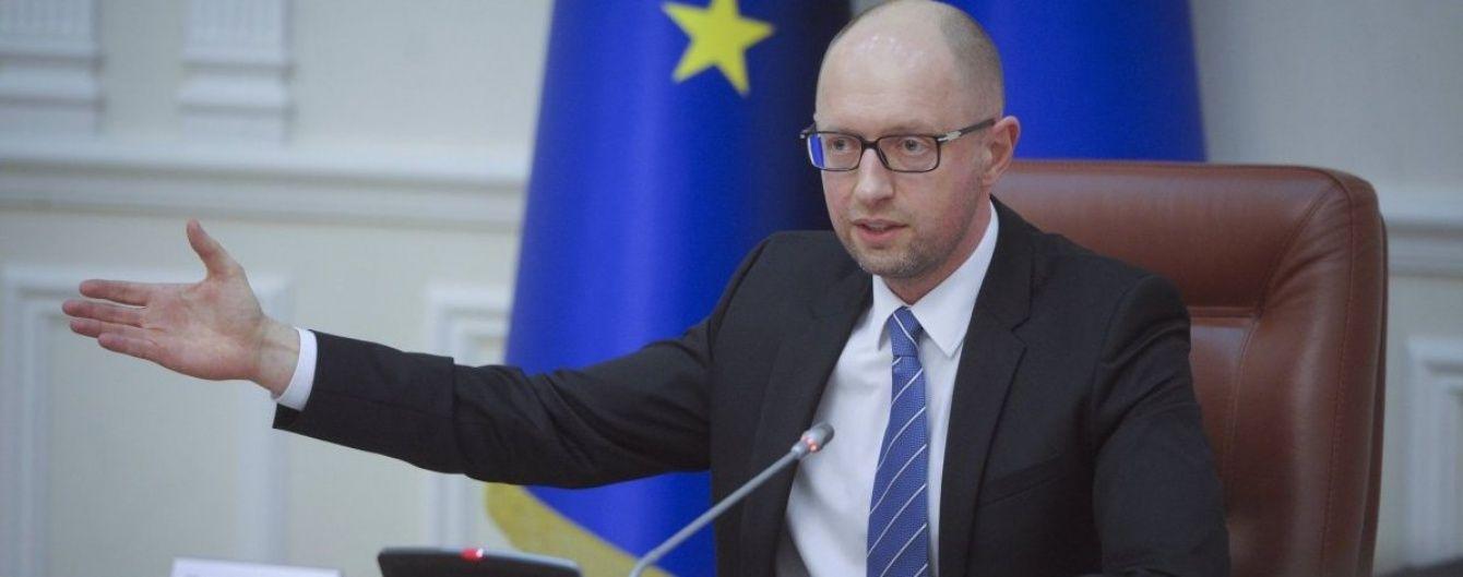 Яценюк побачив позитив у політичній кризі в Україні