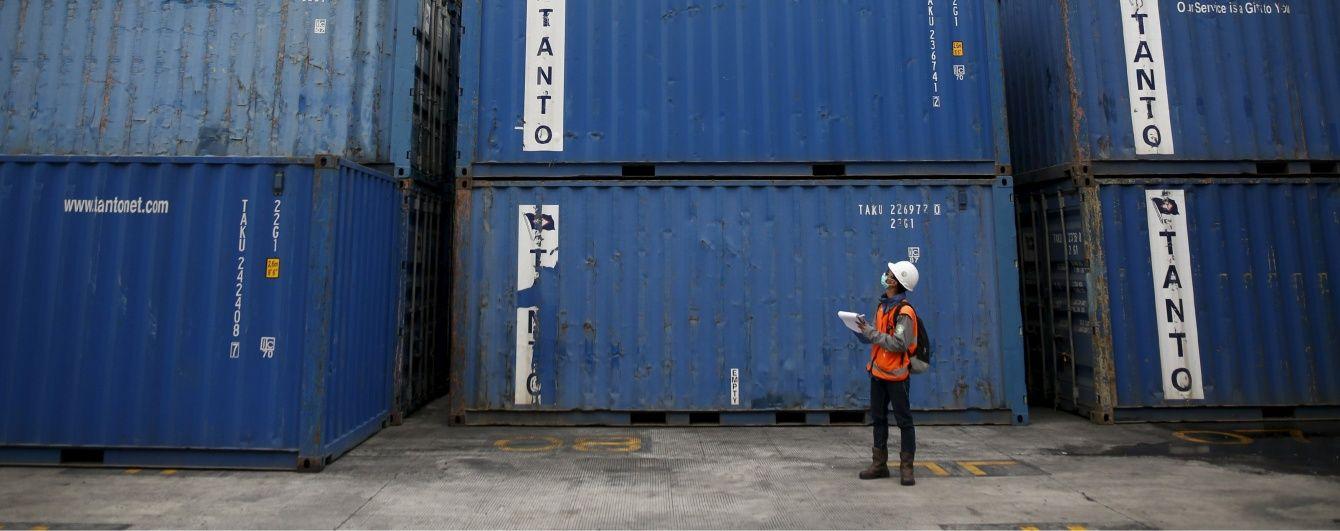 Україна суттєво скоротила експорт товарів