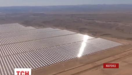 Самую большую в мире солнечную станцию открыли в Марокко