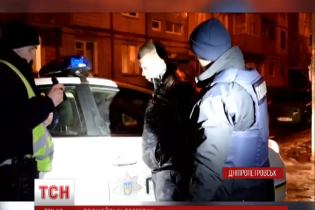 В Днепропетровске полицейские с погоней и наручниками ловили нетрезвого гаишника