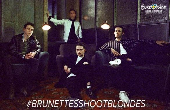 Brunettes Shoot Blondes