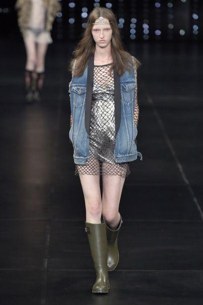 Тренд сезона: модная фактура - сетка