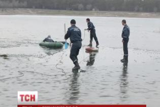 На Луганщині під лід провалилися п'ятеро дітей
