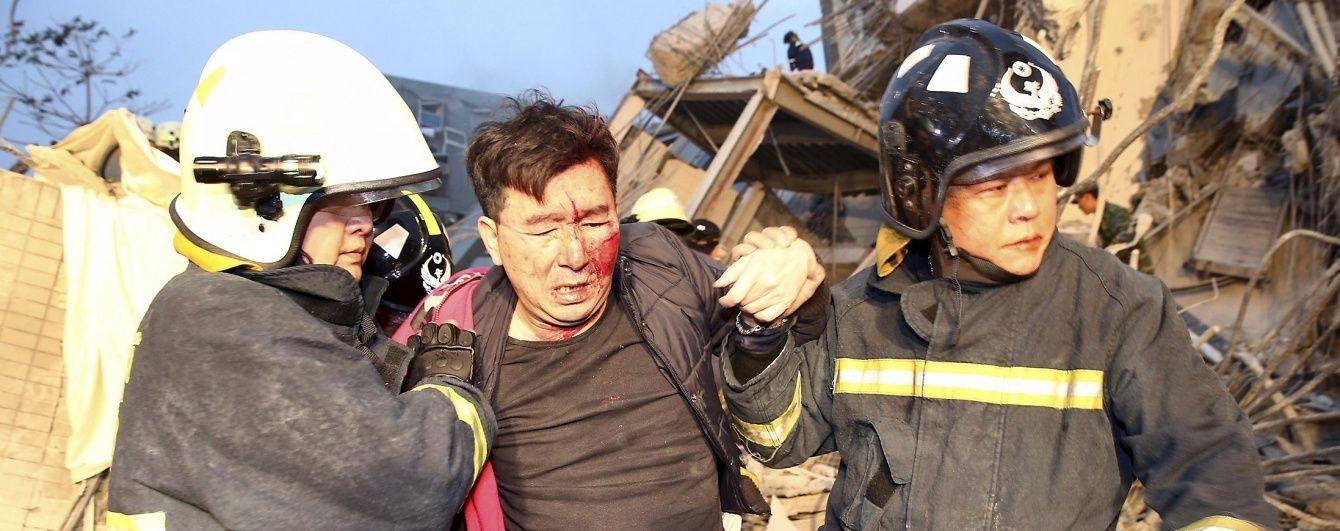 Кількість жертв землетрусу на Тайвані зросла до 106 осіб