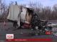 Двоє людей згоріли живцем під час аварії у Харкові