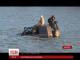 В Ужгороді двоє молодиків невдало форсували річку на джипі