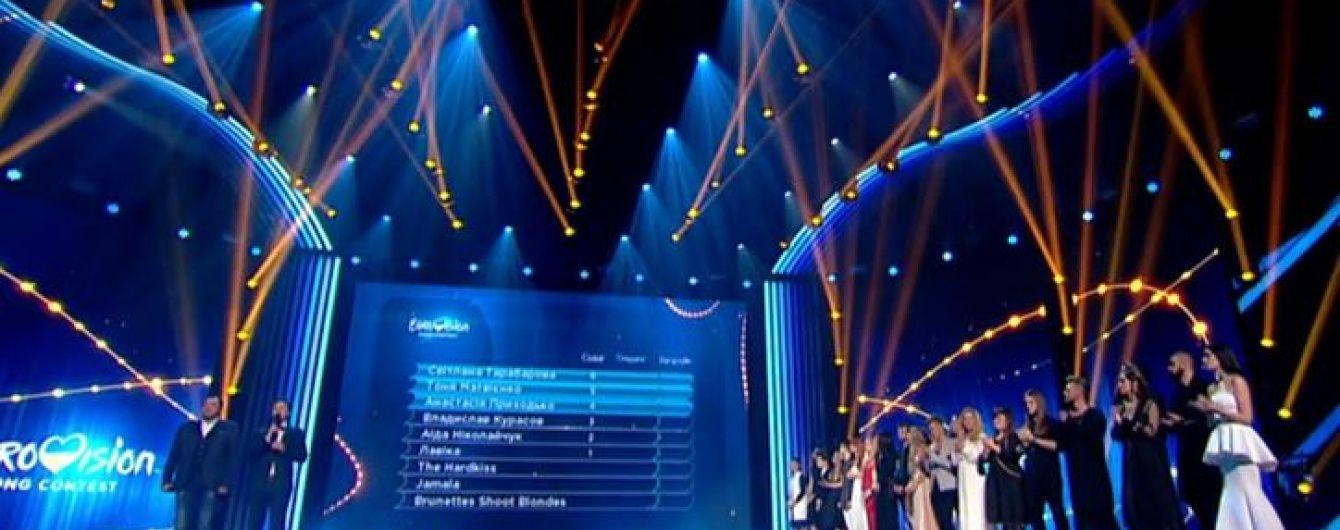 Євробачення 2016: визначені перші фіналісти нацвідбору