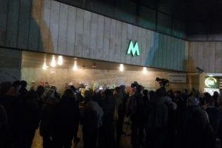 """Рятувальники розповіли, що горіло на станції метро """"Площа Льва Толстого"""""""