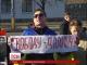 У Києві відбувся мітинг на підтримку російського активіста Дадіна