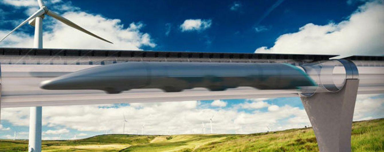 Транспорт майбутнього.  У США розробляють потяг, який зможе розігнатися до 1200 км