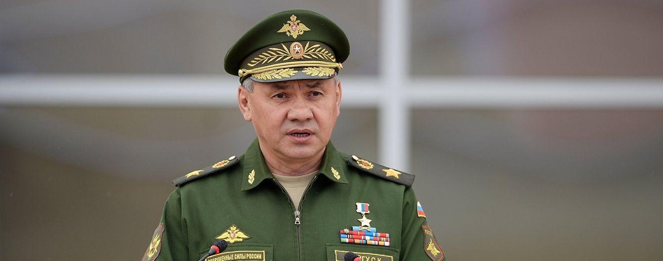 Шойгу приїхав до окупованого Крим роздавати ордени