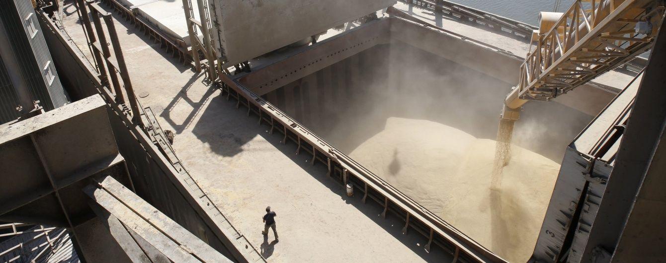 Україна перевершила власний рекорд із експорту зерна