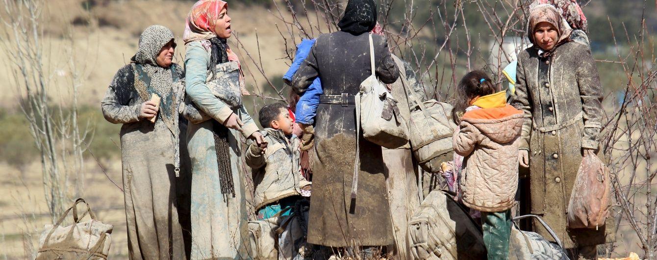 ООН скинула перші гуманітарні вантажі у Сирії