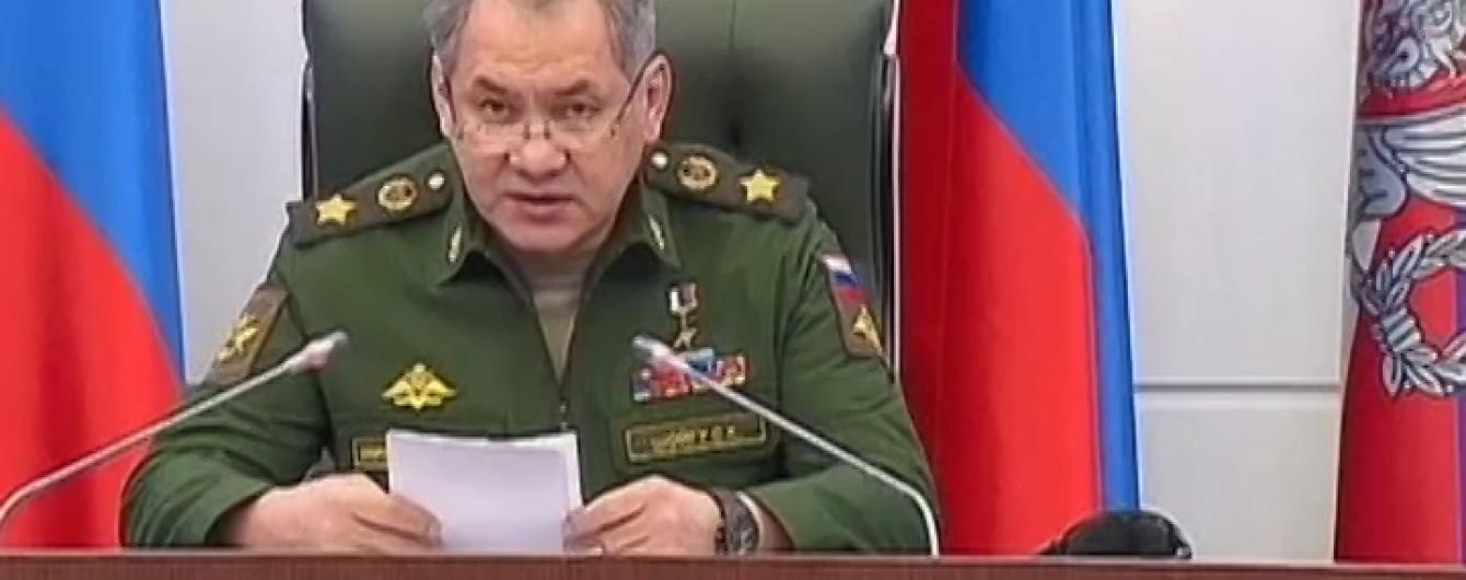 Шойгу розповів, чому активізувалися десантники та авіація РФ поблизу України