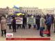Демобілізовані військові перекрили рух центральною дорогою Кіровограда
