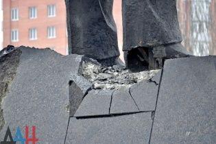 """Бойовики """"ДНР"""" повідомляють про затримання підривників Леніна в Донецьку"""