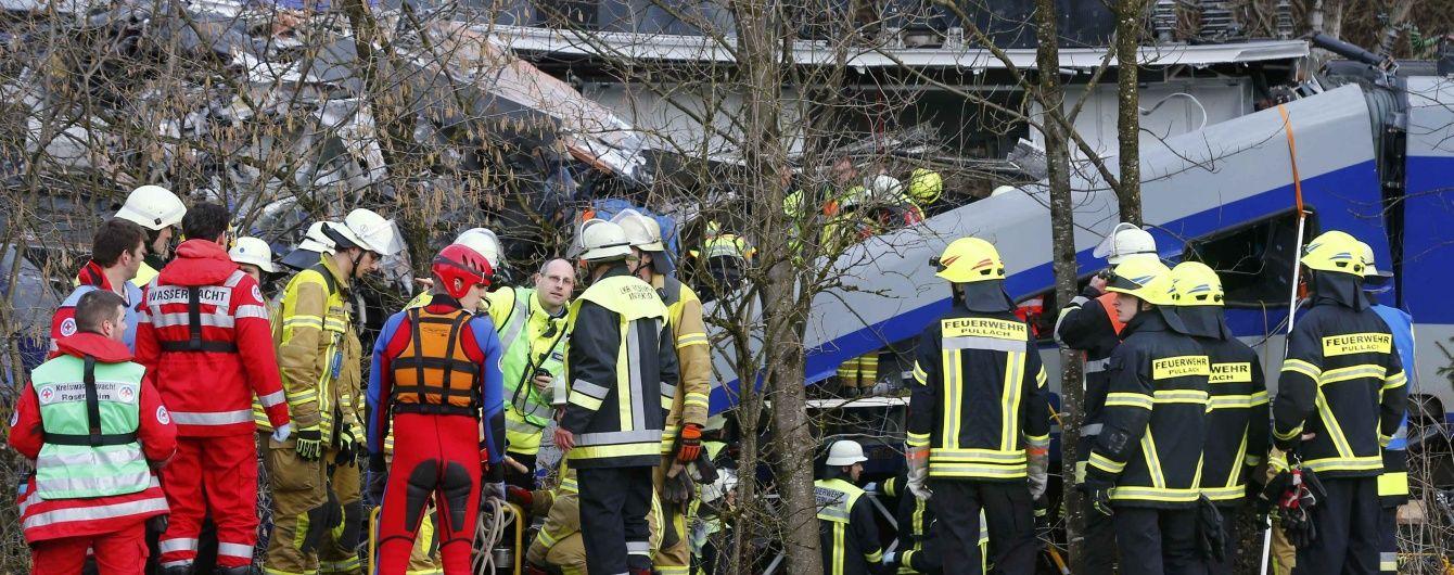 Одним із розбитих потягів у Німеччині міг керувати практикант