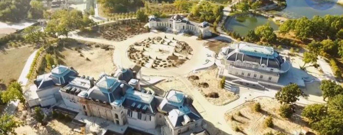 Безпілотник зняв величезний маєток екс-регіонала Іванющенка