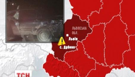 Масштабное ДТП произошло на Львовщине