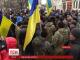 Кілька десятків мобілізованих бійців АТО провели цю ніч на центральній площі Кіровограда