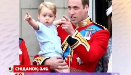 Принц Джордж хоче стати кадетом