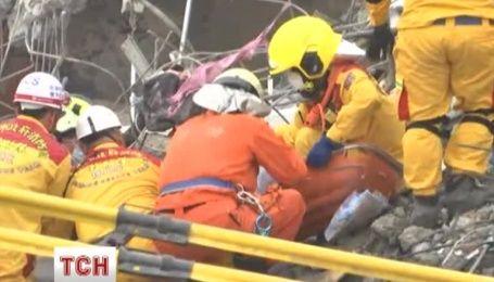 Кількість жертв землетрусу на Тайвані зросло до 45 осіб