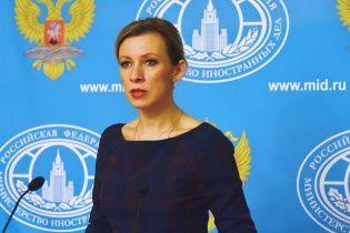Захарова намагається переконати, що Сущенко не був журналістом при в'їзді в РФ