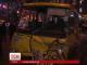 У центрі Києва елітний спорткар протаранив пасажирський автобус