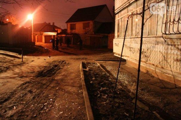 У Запоріжжі невідомий пальнув у будинок із гранатомета