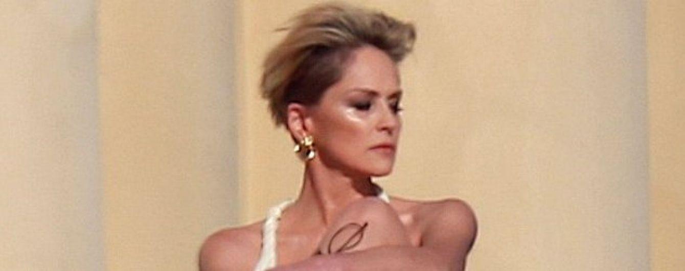 57-річна Шерон Стоун в образі гладіаторки постала в сексуальній фотосесії