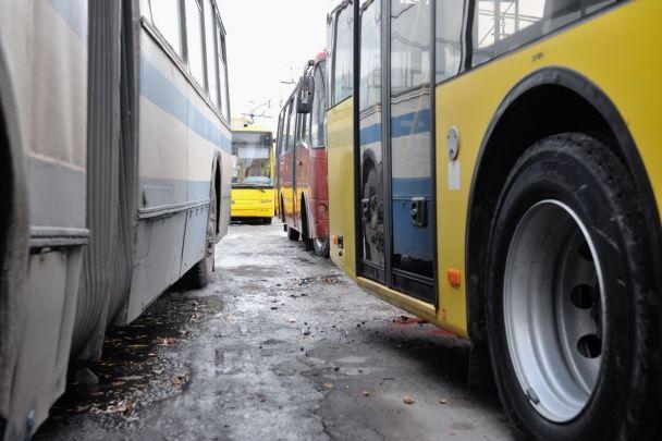 У Сумах через страйк водіїв зупинилися всі тролейбуси міста