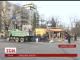 У Дніпропетровську зранку почали прибирати незаконні кіоски