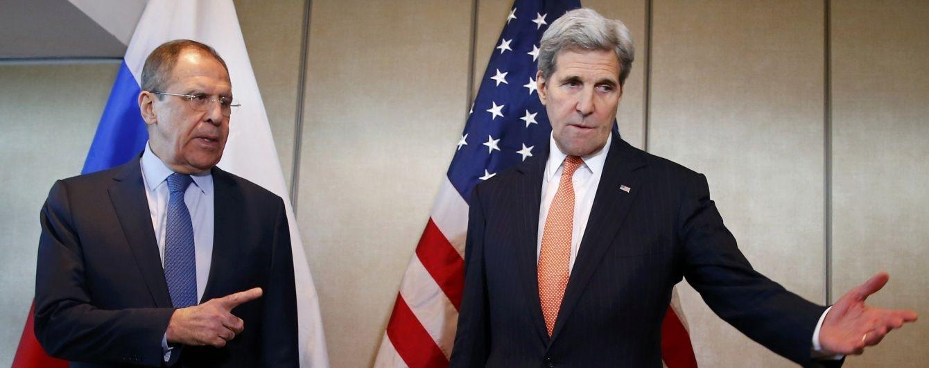 Лавров і Керрі зустрінуться, щоб обговорити Сирію і Україну