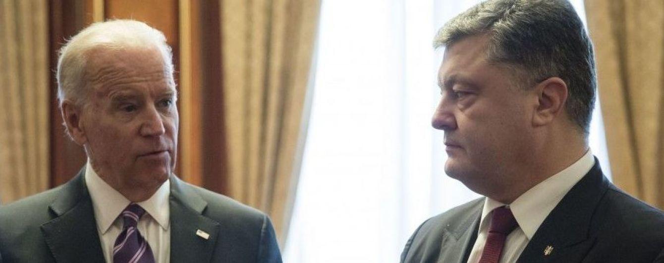 """США планують виділити додаткові гроші на реформу """"безпекового сектору"""" України - Порошенко"""