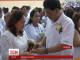 На Філіппінах одночасно побралися 350 пар різного віку