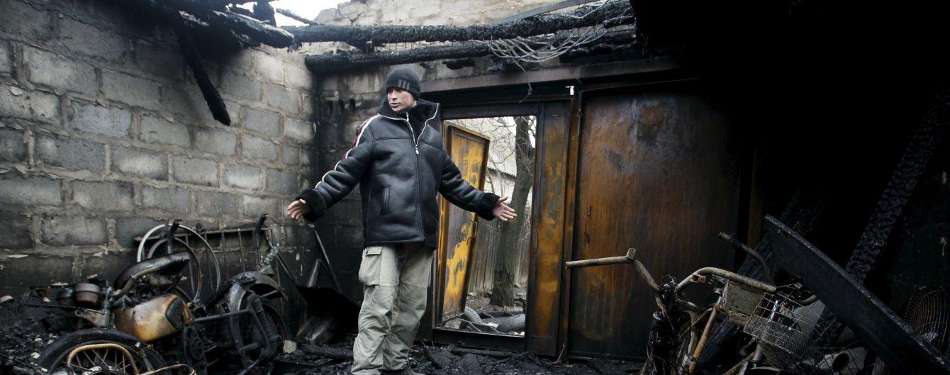 Бойовики накрили вогнем мирних мешканців у Зайцевому, є постраждалі