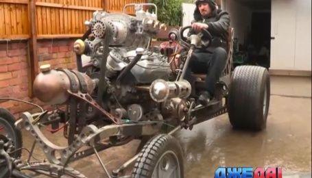 Выдумщик с Туманного Альбиона слепил транспортное средство из металлолома