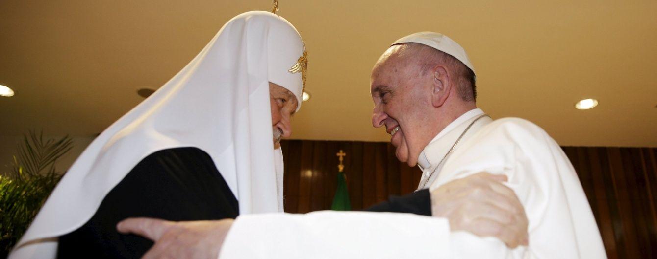 Українські греко-католики почуваються зрадженими після зустрічі Папи Франциска і патріарха Кирила