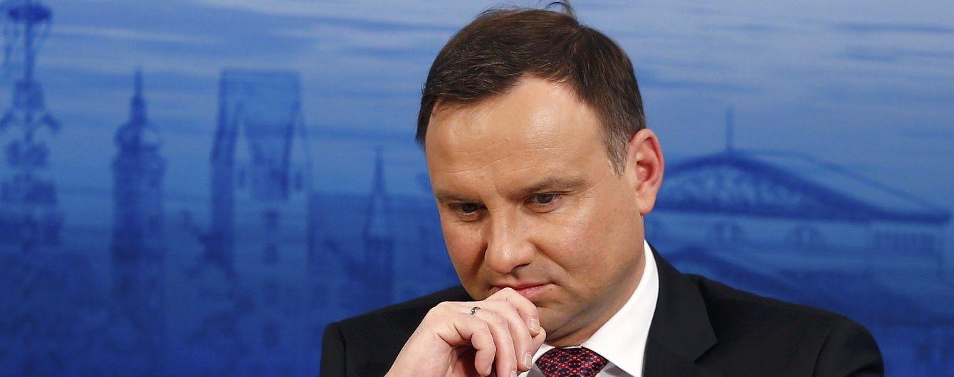 Президент Польщі закликав НАТО показати характер в діалозі із РФ