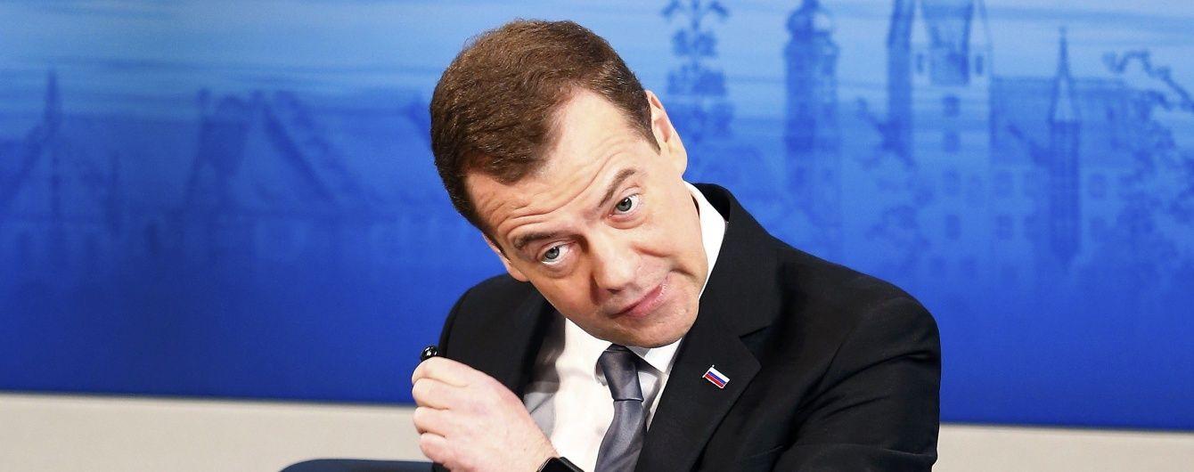 """Медведєв заявив про """"нову холодну війну"""" між Росією та Заходом і звинуватив Україну в усіх """"гріхах"""""""