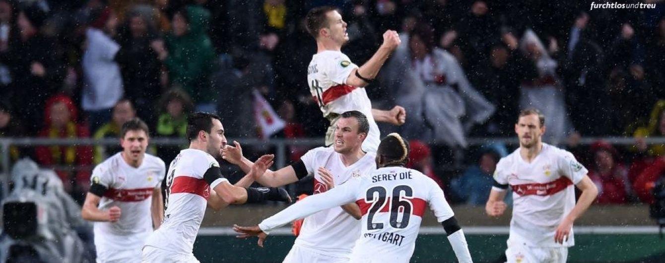 """Кравець зі """"Штутгартом"""" перемогли одного з лідерів чемпіонату Німеччини"""