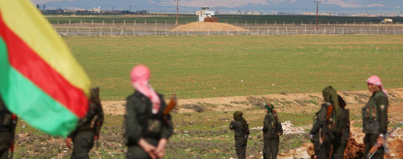Турецька армія обстріляла з артилерії позиції сирійських курдів