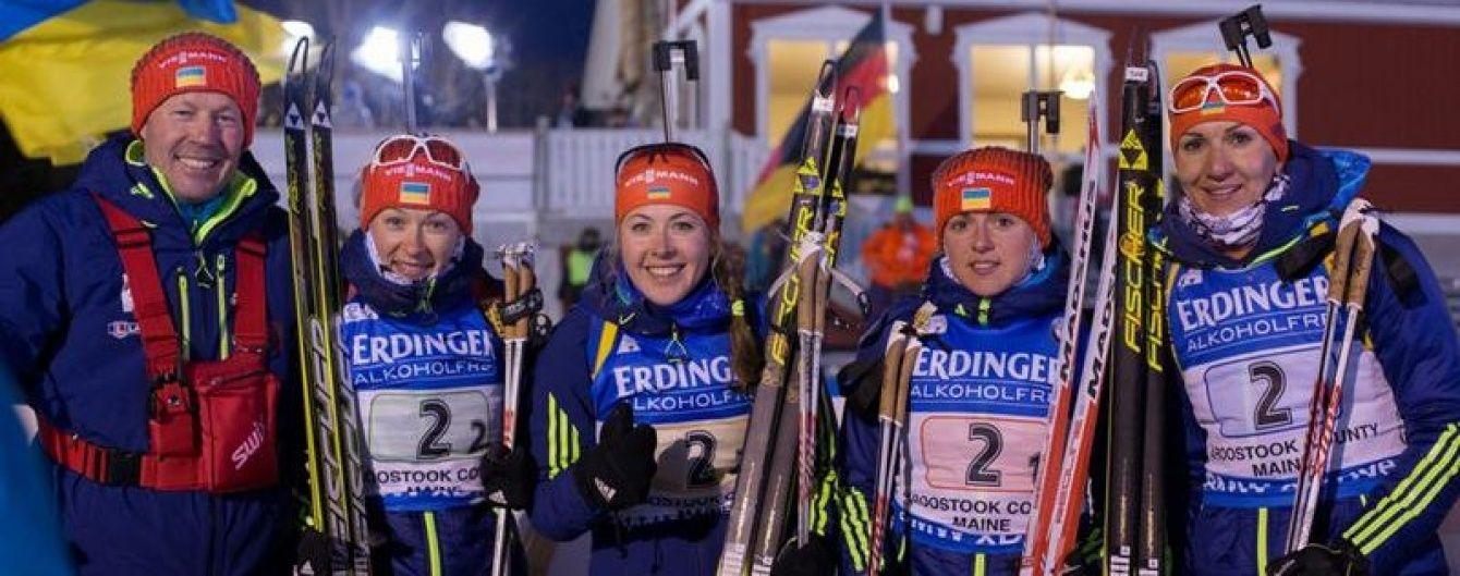 Українські біатлоністки виграли дві медалі в мас-старті передсезонних гонок