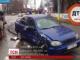 У Києві п'яний водій протаранив патрульне авто